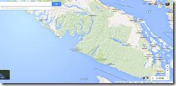 Google Maps Tofino CA Highway 4