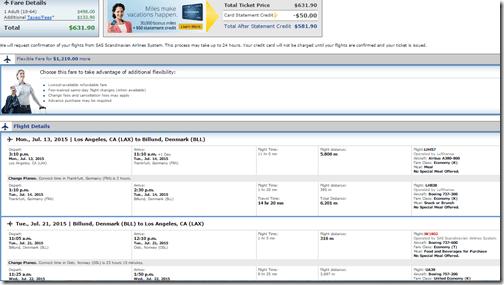 LAX-BLL UA $531 July15