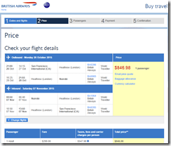 SFO-NBO BA $847 Oct15