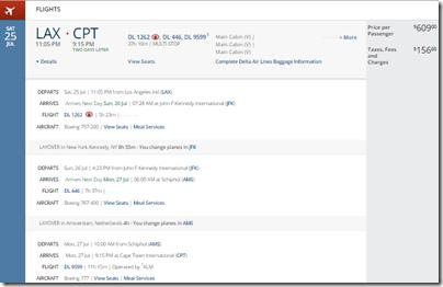 LAX-CPT DL $766 Jul15