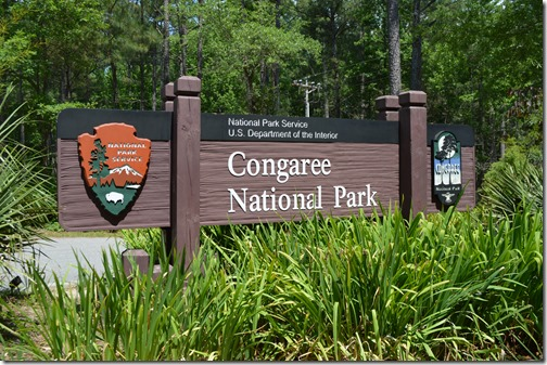 Congareee NP entrance