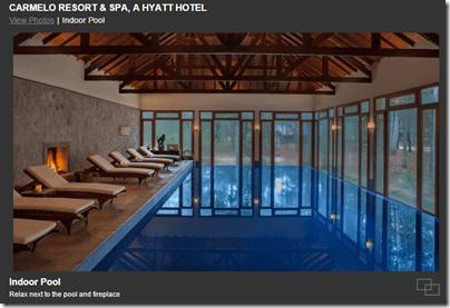 Hyatt Carmelo pool