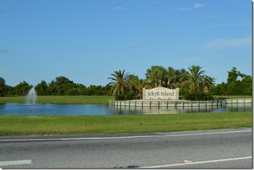 Jekyll Island sign