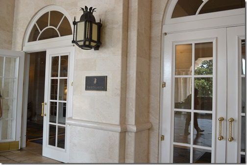 Ritz-Carlton Orlando entrance