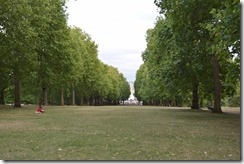 Green Park view of Victoria Monument