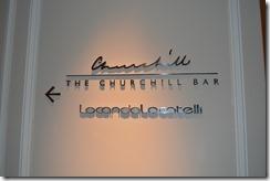 Hyatt Churchill bar