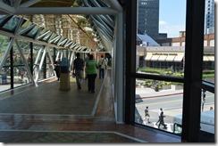 Copley pedestrian overpass