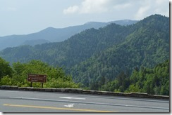 Newfound Gap road sign