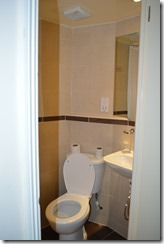 Comfort Inn toilet