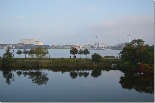 Castellet harbor view