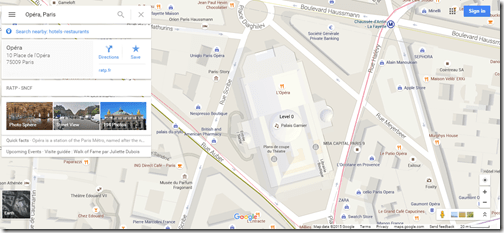 Google Maps Roissybus stop