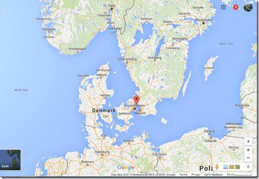 Oresund Strait Denmark-Sweden