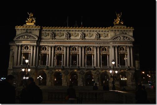 Palais Garnier night