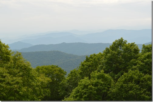 Appalachian ridges