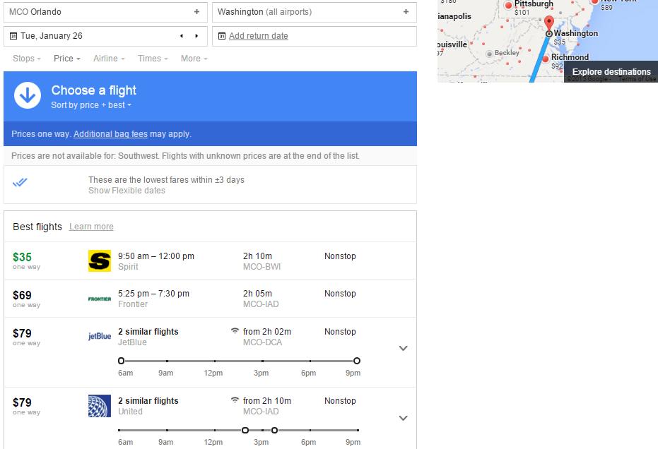 Google Flights Tutorial Finding Low Fares