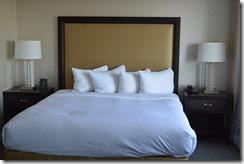 Wash Hilton bed
