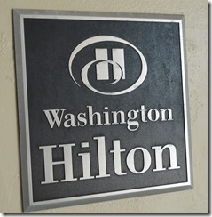 WashHilton sign