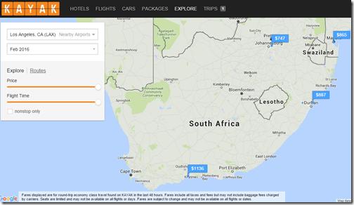 Kayak Explore Durban Fare Feb16