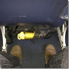 Allegiant seat space