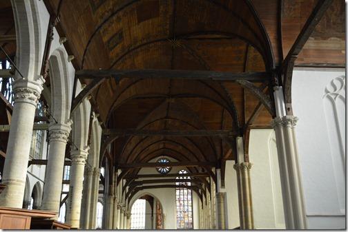 Oude Kerk oak beams