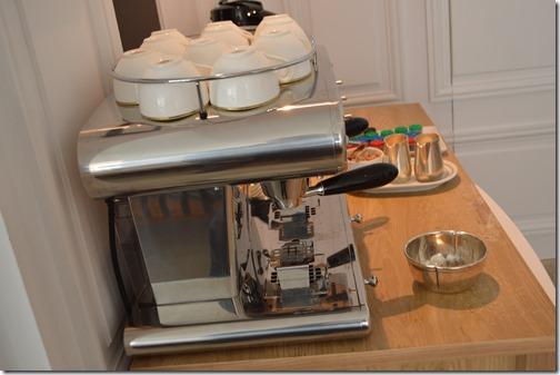 Amstel Hotel pool coffee