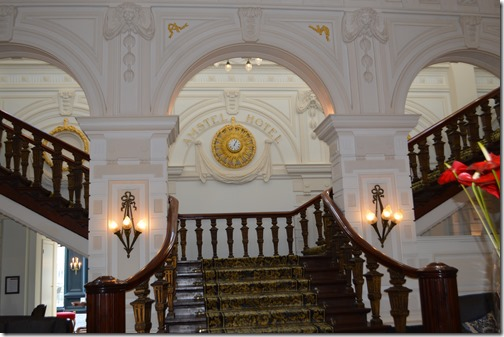 Amstel Hotel staircase