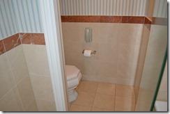 Amstel Hotel toilet