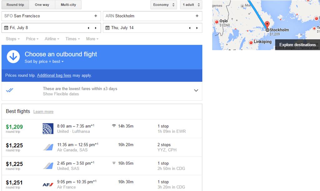 flights sfo to can google