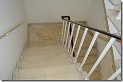 Ramada stairs to gym