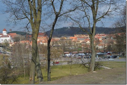 Vilnius Old Town view