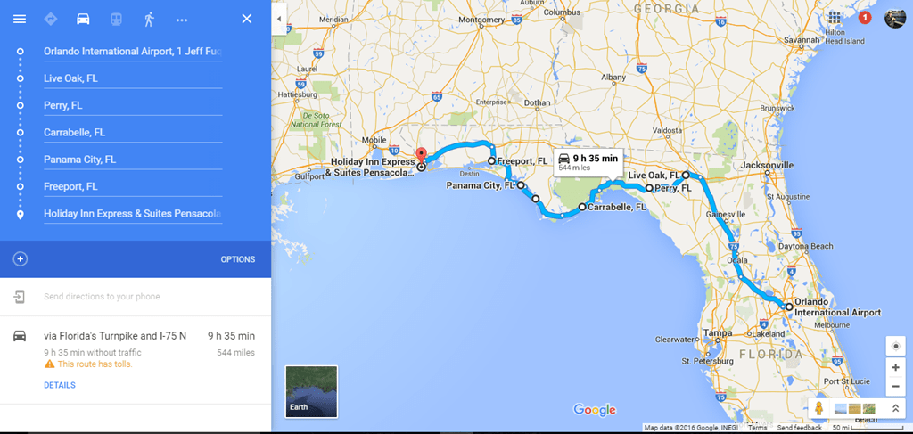 Car Rental Fort Walton Beach Airport >> Orlando to Pensacola road trip notes and photos - Loyalty Traveler