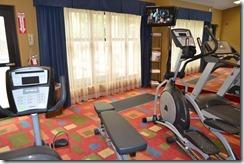 HIX fitness room