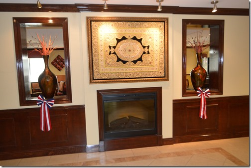 HIX lobby decor