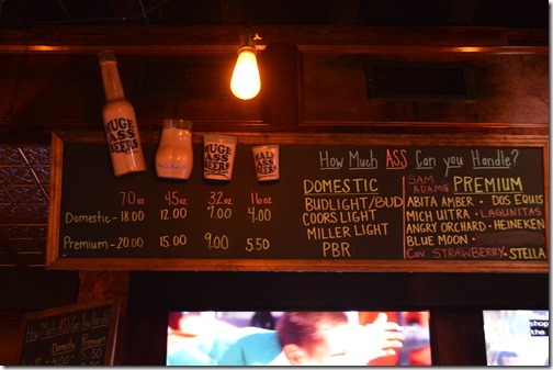 Prohibition beer prices