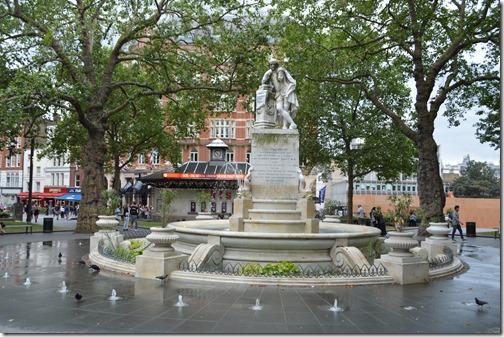 Shakespeare statue 1874