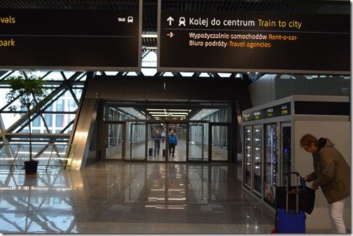 Krakow Airport trains