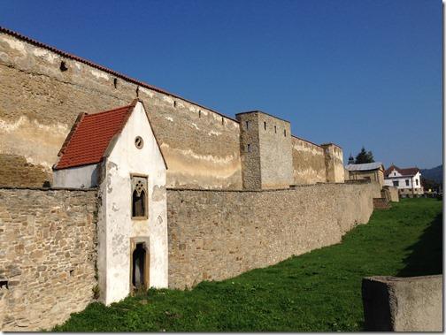 Levoca town wall