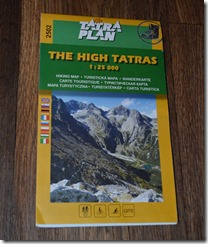 Tatra Hiking Map
