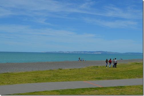 Napier Marine Parade beach