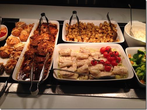 BA First LHR-T3 dinner