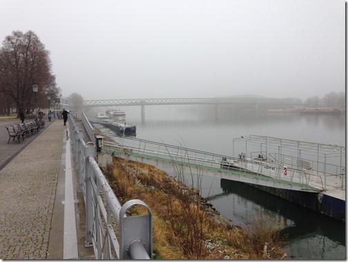 Bratilava Danube River
