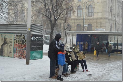Wien street musicians