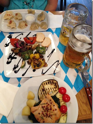 Bierhalle Krakow dinner