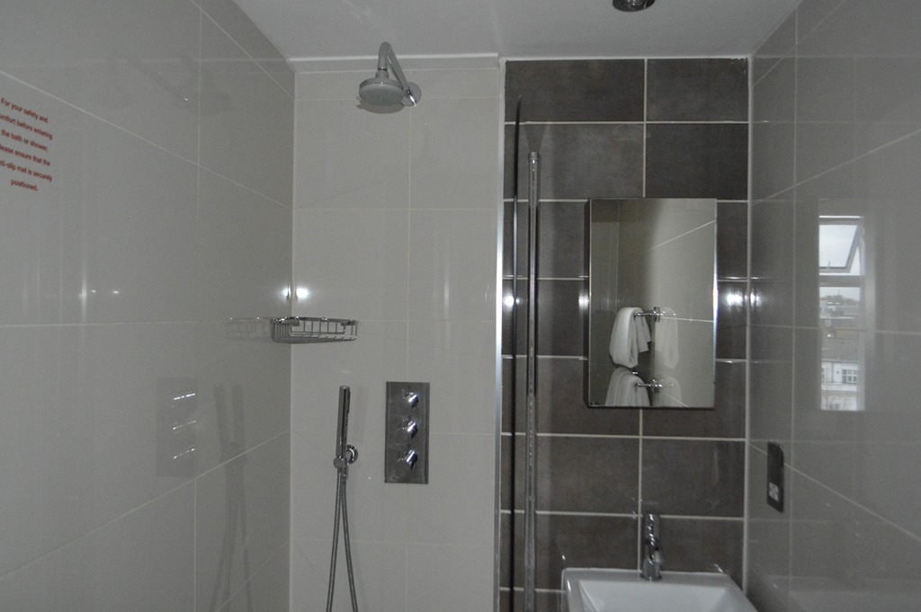Spectacular The sink was too small to fit the hot water kettle under the faucet Another strange aspect of the bathroom was no soap There were small bath size shampoo