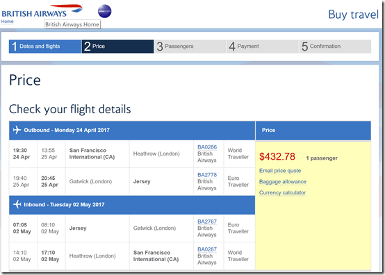 SFO-JER $433 Apr24-May2 BA