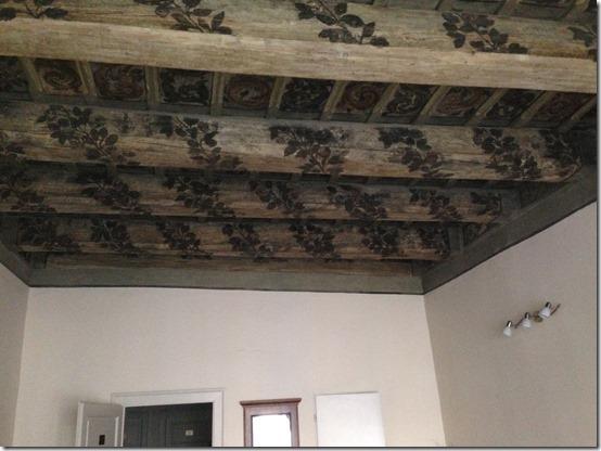 U Med 216 painted beams