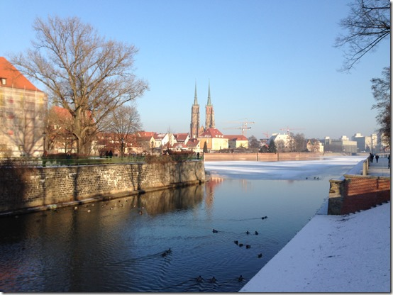 Wroclaw cathedral view