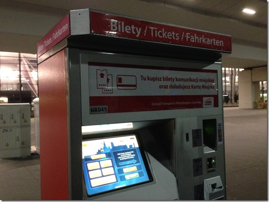 GDN bus kiosk