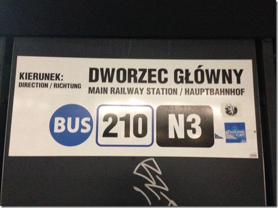 GDN bus stop