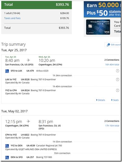 SFO-CPH $396 UA Apr25-May2
